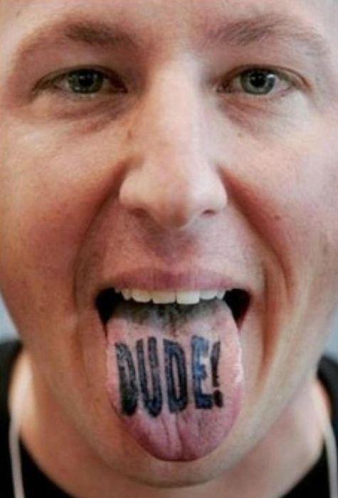 Tongue Tattoos (20 pics)