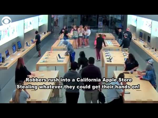 Apple Store In California Robbed By Four Teenagers