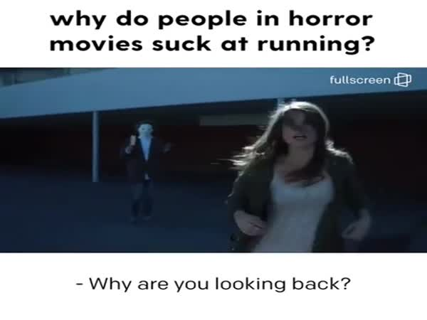 It Gets Silly In Horror Movies