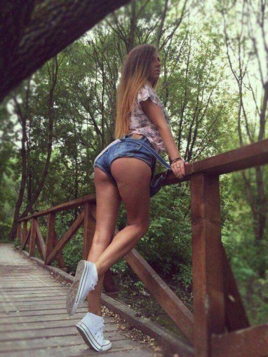 Women In Very Short Shorts