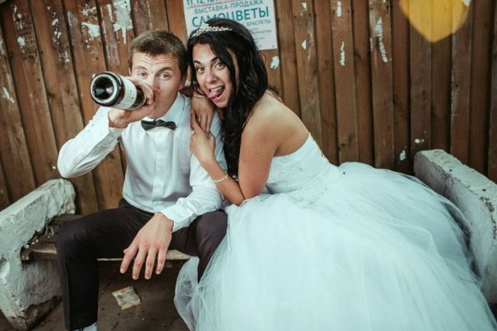 Awkward Russian Wedding Moments (30 pics)