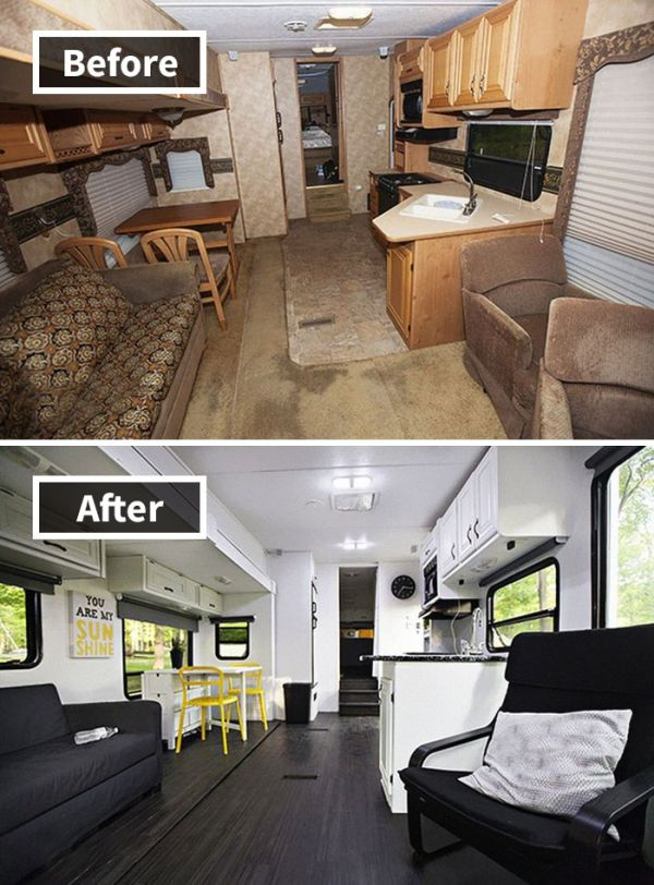Rooms Before And After Makeover (30 pics)