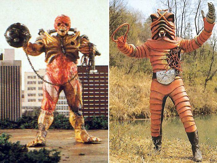 Vintage Japanese Movie Monsters (20 pics)