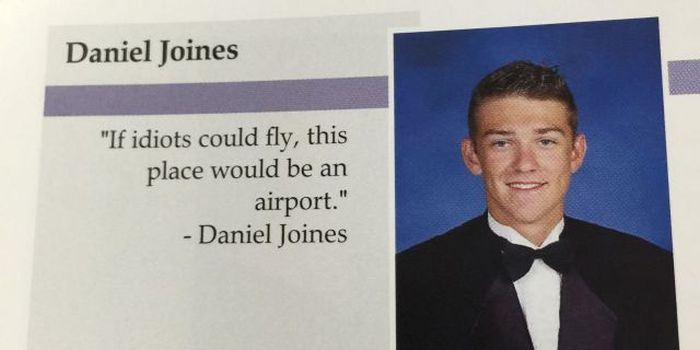 Funny Yearbook Quotes (26 pics)