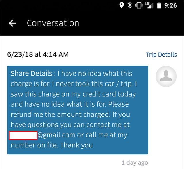 Uber Scams A Rider For $157 Cleaning Fee (29 pics)