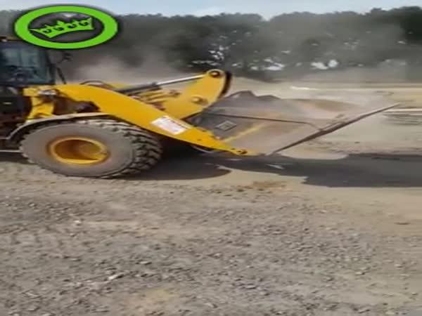 Excavator Digger Prank