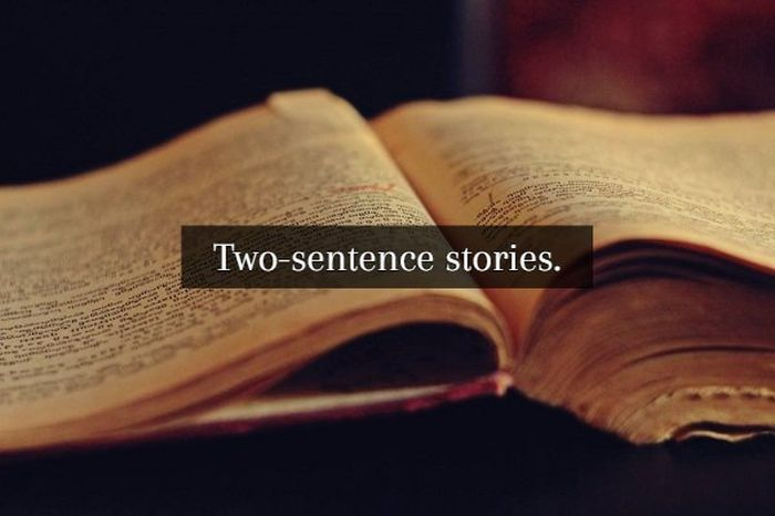 Two-sentence Stories (18 pics)