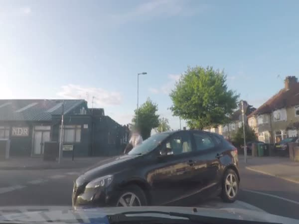 Perfect English Gentleman Keeps Calm During Road Rage Incident