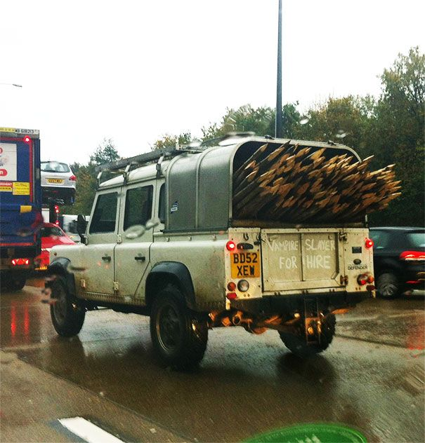 You Don't See It On The Road Very Often (30 pics)