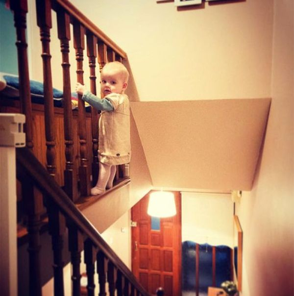 Dad Photoshops Daughter Into Dangerous Situations To Freak Out Relatives (11 pics)