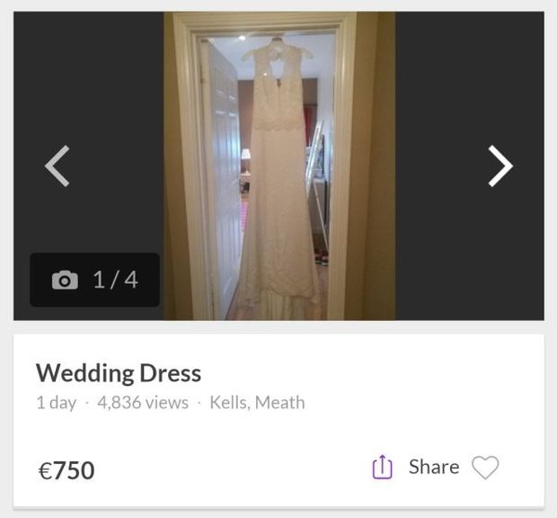 Guy Sells His Cheating Fiance's Wedding Dress To Pay For Beer And Prostitutes (3 pics)