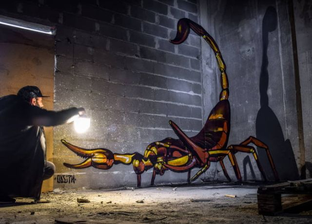 Street Art by Odeith (9 pics)