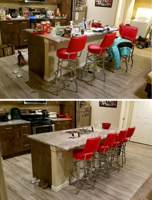 Getting Things Done. Before And After (23 pics)