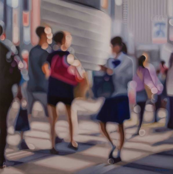 This Artist Hyperrealistically Draws The World Of People With Bad Eyesight (29 pics)