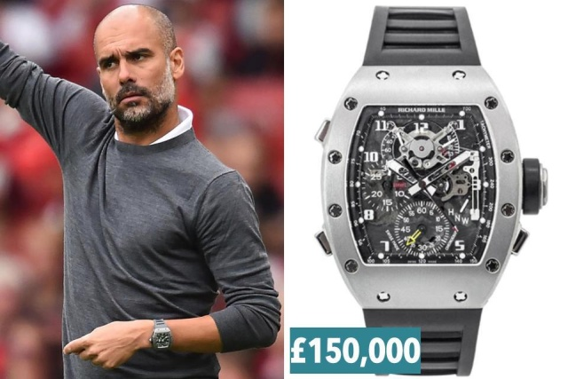 Watches Of The Premier League Bosses (12 pics)