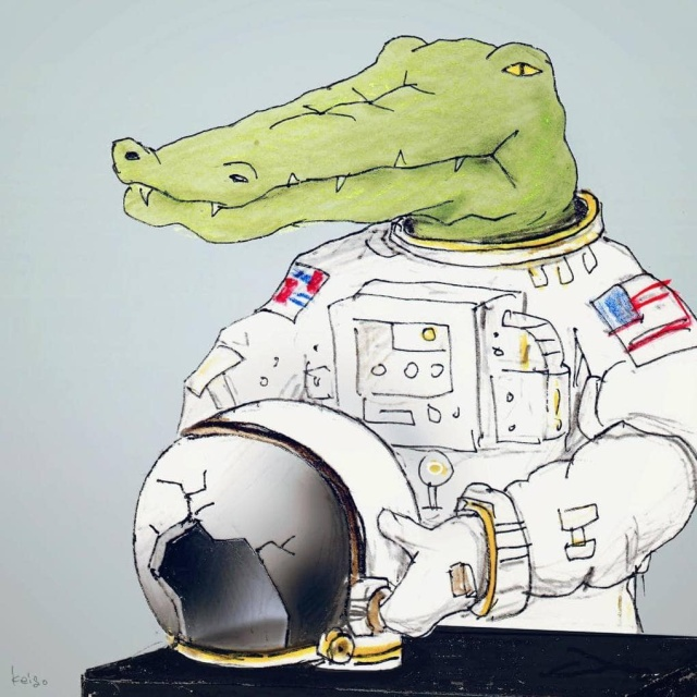 Crocodile In The World Of People (25 pics)