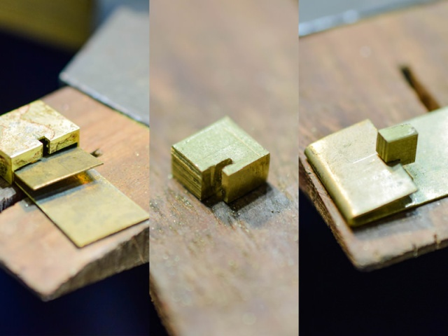Making A Cuban Chain With A Box Clasp (26 pics)