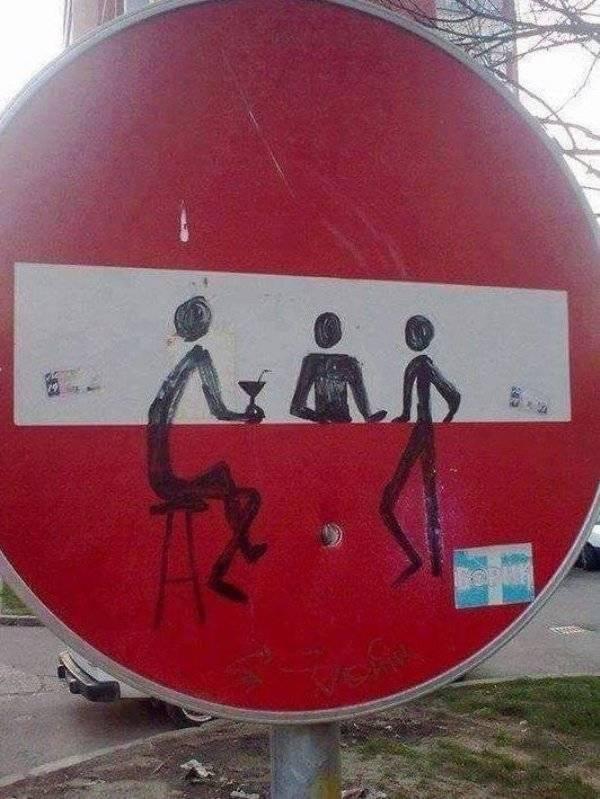 Good Examples Of Funny Vandalism (23 pics)