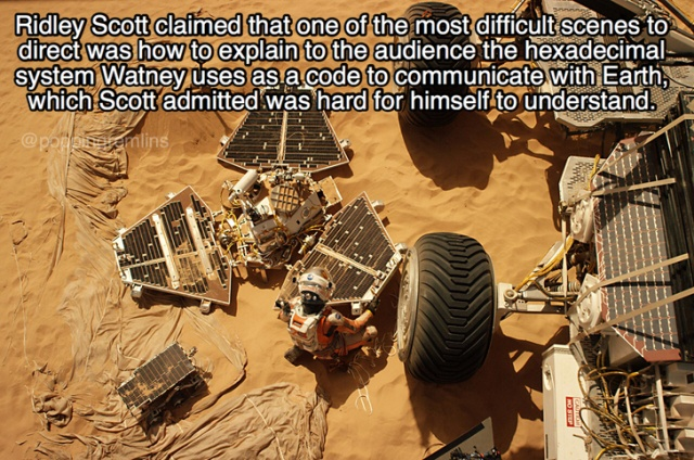 Facts About 'The Martian' (20 pics)