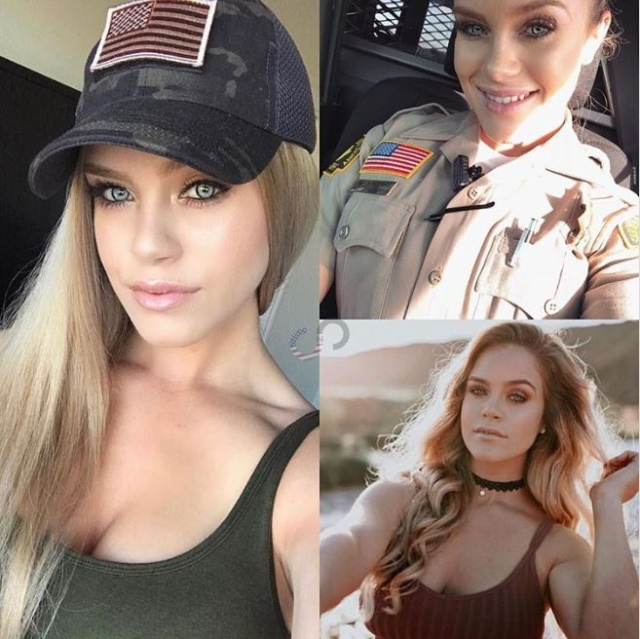 Girls With and Without Their Uniform (19 pics)