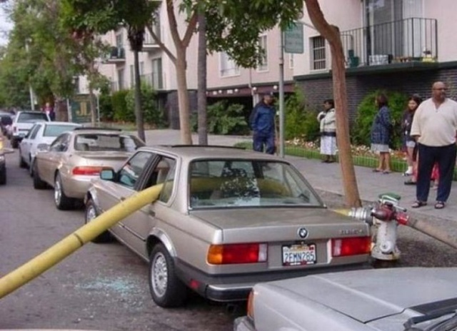 Never Park Next To Fire Hydrants (13 pics)