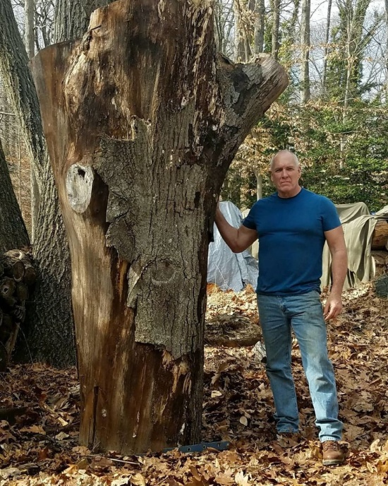 Wooden Life-Size Statue Of Arnold Schwarzenegger (10 pics)