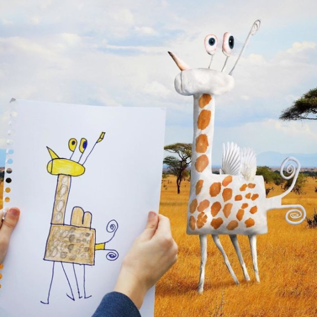 When Children's Drawings Become Reality (20 pics)