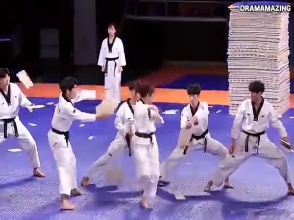 The Korean Taekwondo Team Is Unstoppable