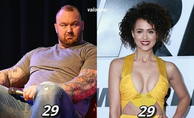 Current Age of Actors Game of Thrones (7 pics)