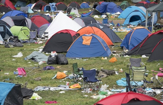After A 3-Day Festival In Reading (8 pics)