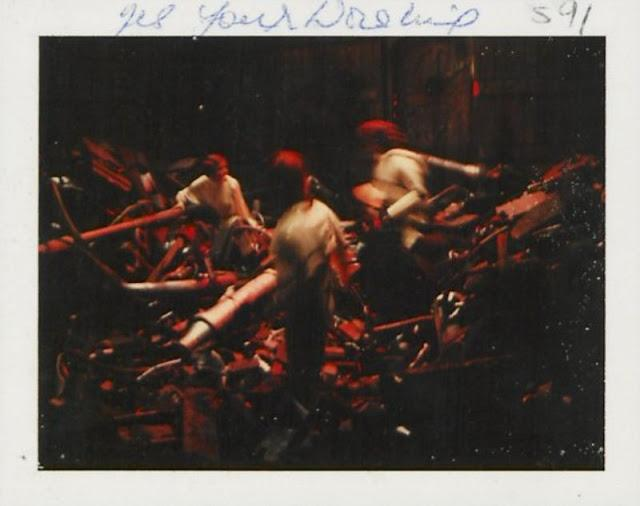 Polaroid Photos Taken During the Making of 'Star Wars Episode IV: A New Hope' (15 pics)