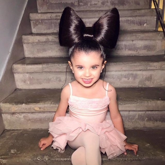 5-Year-Old Instagram Star Has Amazing Hair (11 pics)