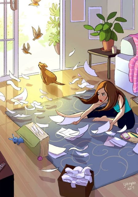 What It's Like To Live With A Dog (25 pics)