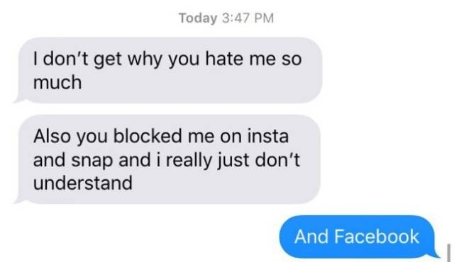 Never Text Your Ex (33 pics)