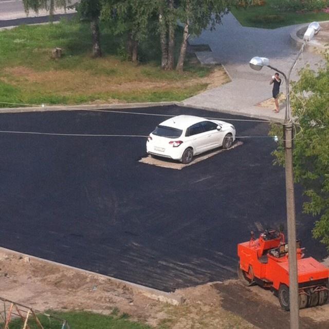 Road Repair Done Wrong (3 pics)