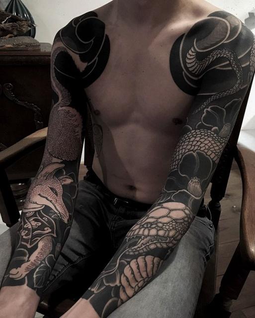 Gakkin Tattoos (14 pics)