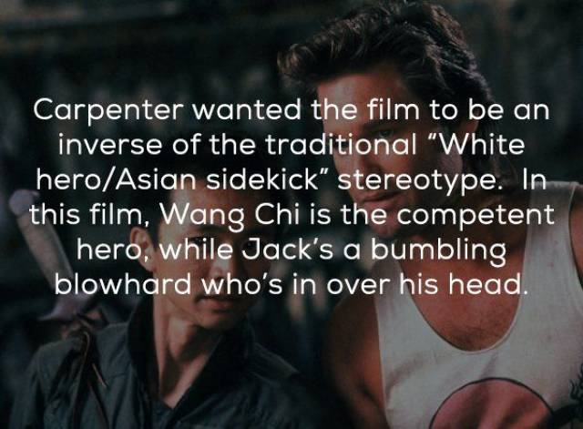 Facts About 'Big Trouble In Little China' (20 pics)