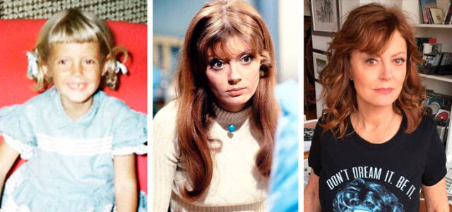 How The Most Beautiful Celebrity Women Changed Since Their Childhood (22 pics)