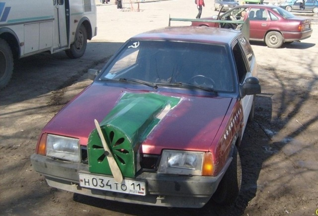 Only in Russia (20 pics)