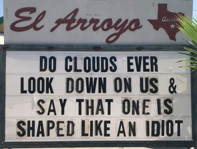 Funny Signs In A Restaurant In Texas (20 pics)