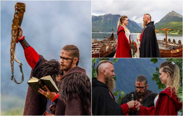 The First Viking Wedding in 1,000 Years (15 pics)