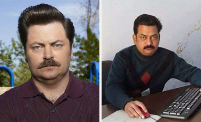 Doppelgangers Of Hollywood Stars (17 pics)