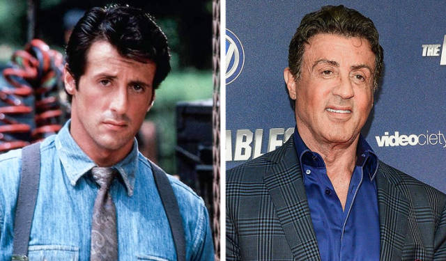 How Action Movie Stars Have Changed (22 pics)