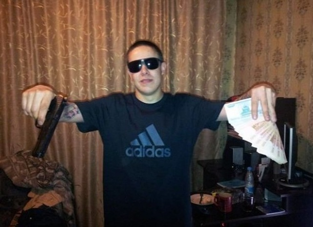 Wannabe Russian Gangsters (23 pics)