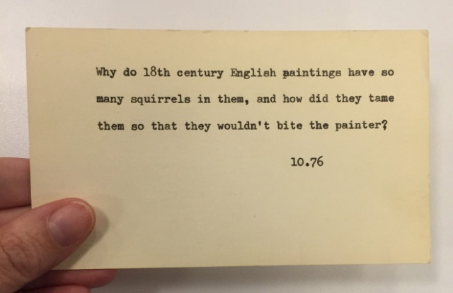 Funny Questions Posed To The New York Public Library Pre-Internet (20 pics)