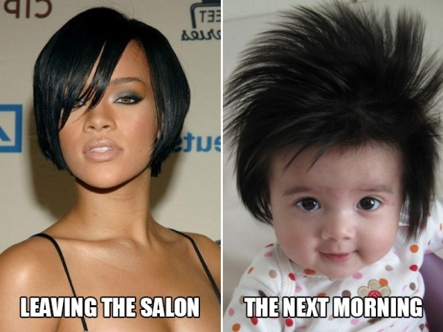 Funny Hairstyle Photos (15 pics)