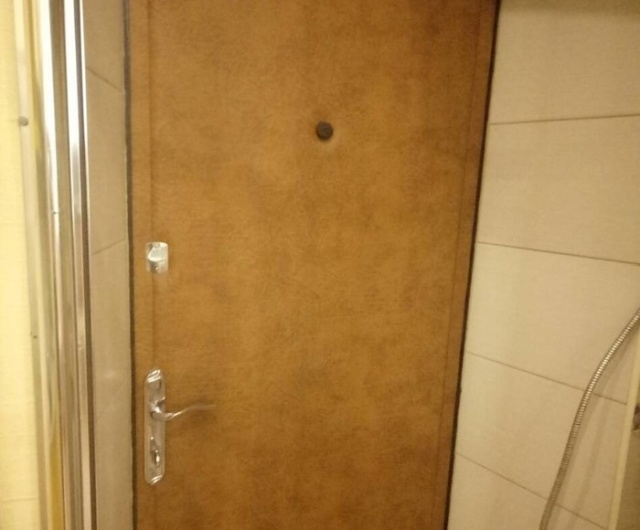 Strange Place And Strange Door For A WC (3 pics)