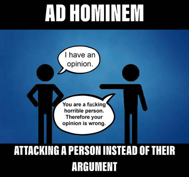 What Tricks People Use To Win Arguments And Why They Are Wrong (20 pics)