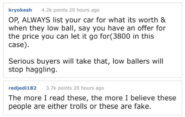 Guy Tries To Sell His Truck Online And Meets The Worst Buyer Ever (7 pics)