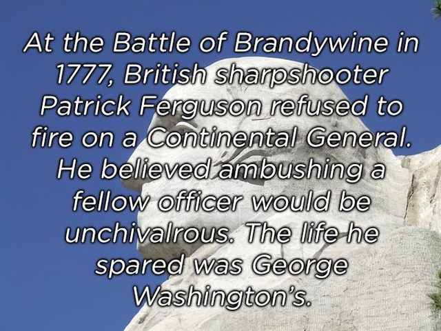 Weird About Famous Events (17 pics)